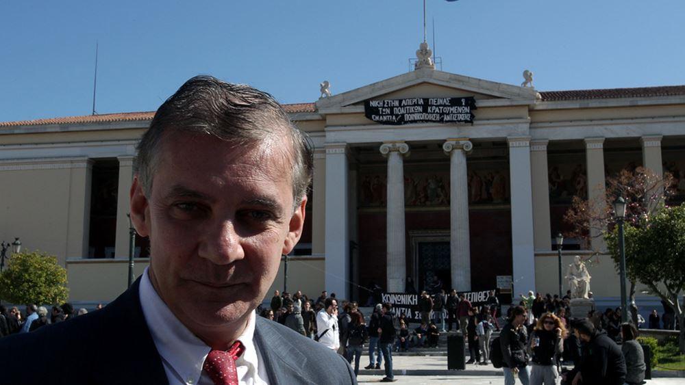 Α. Δημόπουλος: Σε πλήρη ανάπτυξη οι έρευνες φαρμάκων κατά του κορονοϊού
