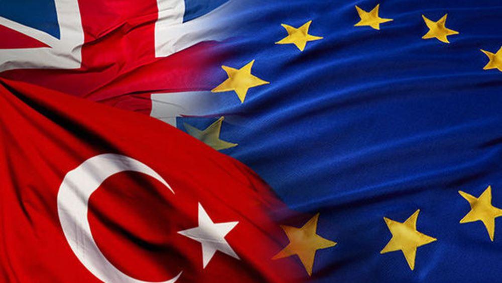 Στήριξη Τουρκίας εντός ΕΕ από Λονδίνο μέχρι τελικής πτώσεως