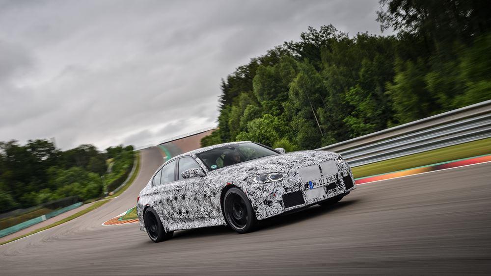 Οι νέες BMW M3 Sedan και BMW M4 Coupé στην τελική ευθεία εξέλιξης