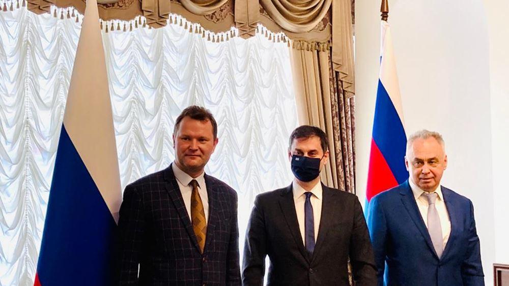 Χ. Θεοχάρης: Εξαιρετικά εποικοδομητική η επίσκεψη στη Μόσχα