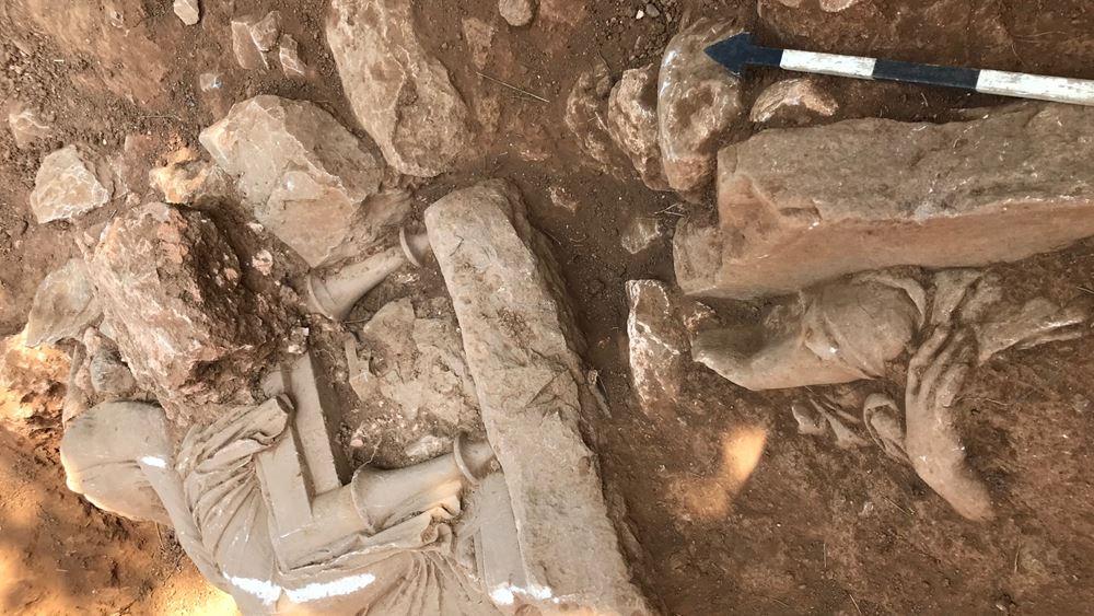 ΥΠΠΟΑ: Αποκάλυψη ναόσχημου μνημείου στην Παιανία
