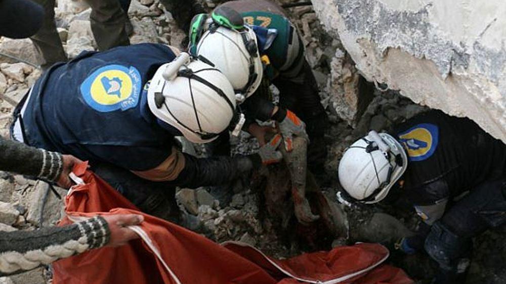 Συρία: Στους 43 οι άμαχοι νεκροί από ρωσικές αεροπορικές επιδρομές σε αγορά στην Ιντλίμπ