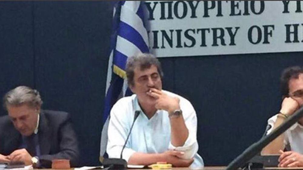 ΝΔ: Με μια φωτογραφία του Πολάκη απαντά στον Τσίπρα