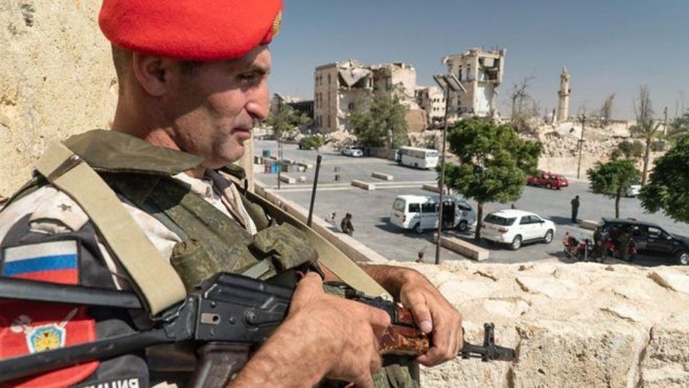 Οι Ρώσοι στρατιωτικοί άρχισαν τις περιπολίες στα σύνορα Συρίας-Τουρκίας