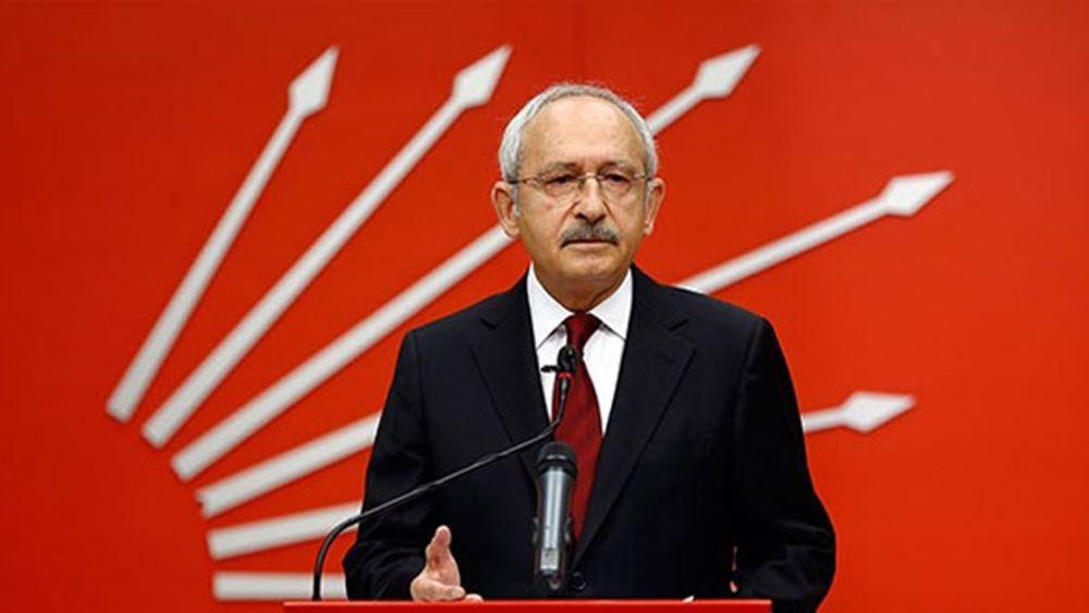 Τουρκία: Δεν θα πληρώσουμε για το Κανάλι της Κωνσταντινούπολης, λέει ο Κιλιτσντάρογλου