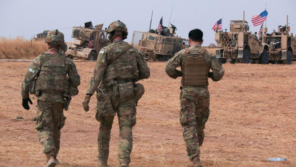 ΗΠΑ: Περίπου 600 αμερικανοί στρατιωτικοί θα παραμείνουν στη Συρία