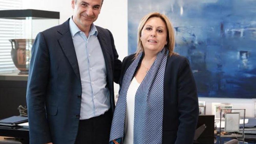 Υποψήφια στο Νότιο Τομέα της Β' Αθηνών με τη ΝΔ η Ν. Πάλλη