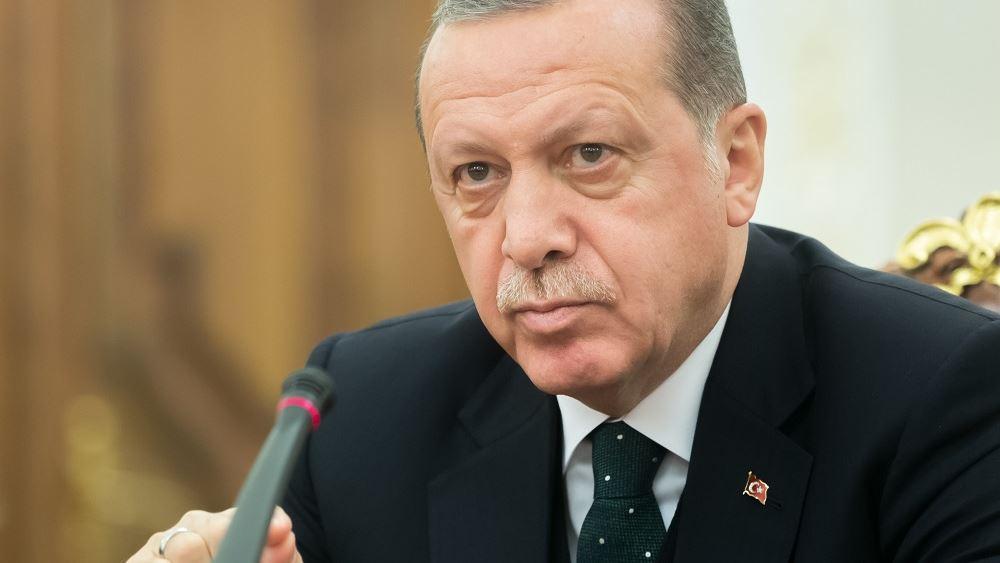 Ερντογάν: Δεν είναι αρκετές οι αστυνομικές δυνάμεις για την ασφάλεια των πόλεων
