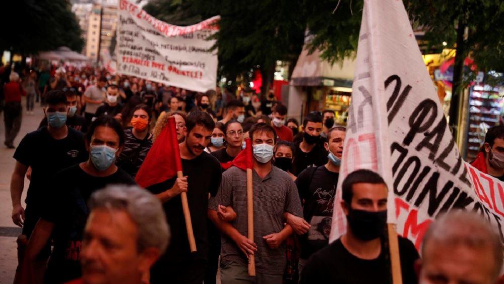 Αντιφασιστική συγκέντρωση και πορεία στο κέντρο της πόλης, με αφορμή τη δίκη της ΧΑ