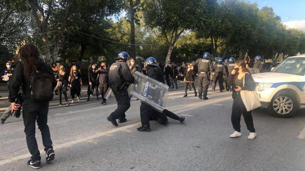 Κύπρος: Ένταση και συλλήψεις σε πορεία διαμαρτυρίας για τα μέτρα κατά του κορονοϊού στη Λευκωσία