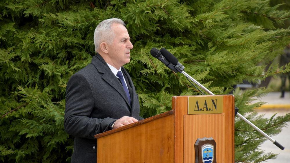 Συνάντηση του Ευ. Αποστολάκη με το Ρώσο πρεσβευτή Α. Μασλόφ
