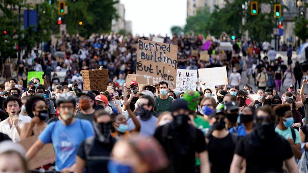 ΗΠΑ: Έκτη ημέρα διαδηλώσεων - Λεηλασίες, επεισόδια, απαγόρευση κυκλοφορίας