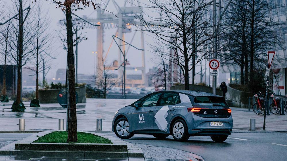 Carsharing ηλεκτρικών αυτοκινήτων στο Αμβούργο από την VW