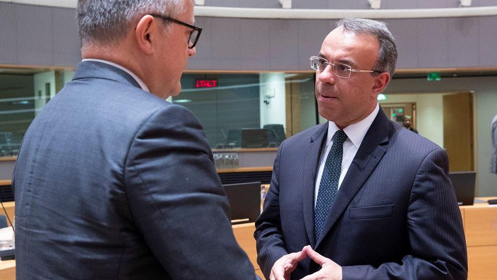 Στο Λουξεμβούργο για τις συνεδριάσεις του Eurogroup και του Ecofin ο Χρ. Σταϊκούρας