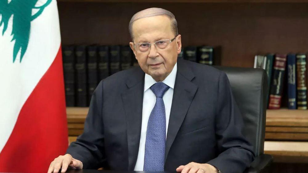 Λίβανος: Ανοιχτός στο ενδεχόμενο ειρήνης με το Ισραήλ ο πρόεδρος Αούν