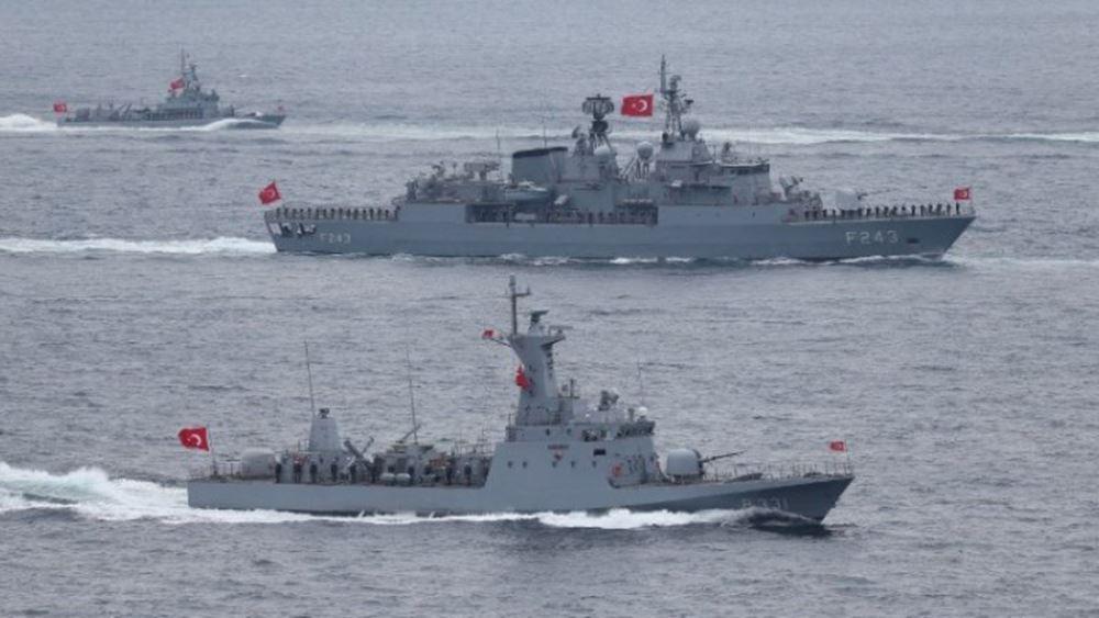 Πληροφορίες για απόσυρση των τουρκικών πλοίων