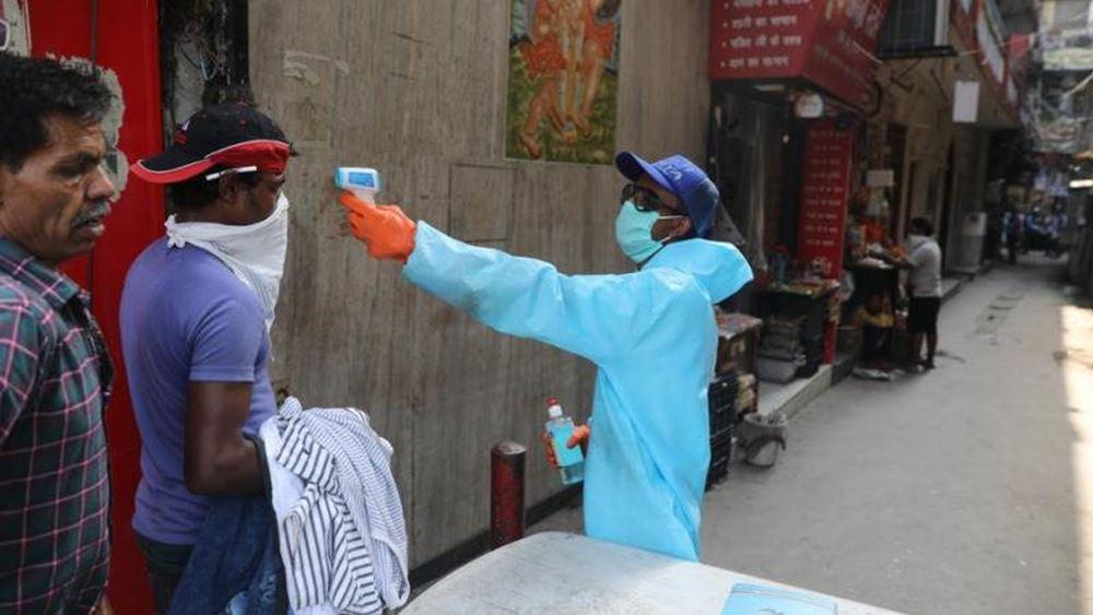 Ινδία: Καταγράφηκαν 24.337 κρούσματα του νέου κορονοϊού