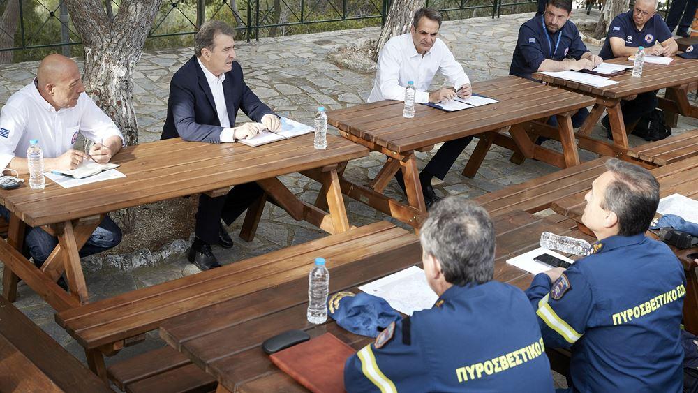 Κ. Μητσοτάκης:Δεν έχουμε τελειώσει με την περιπέτεια του κορονοϊού