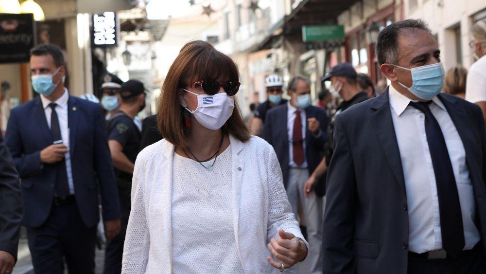 Σακελλαρόπουλου: Είναι υποχρέωσή μας, ανεξαρτήτως ηλικίας, να τηρήσουμε απαρέγκλιτα τα μέτρα κατά του ιού