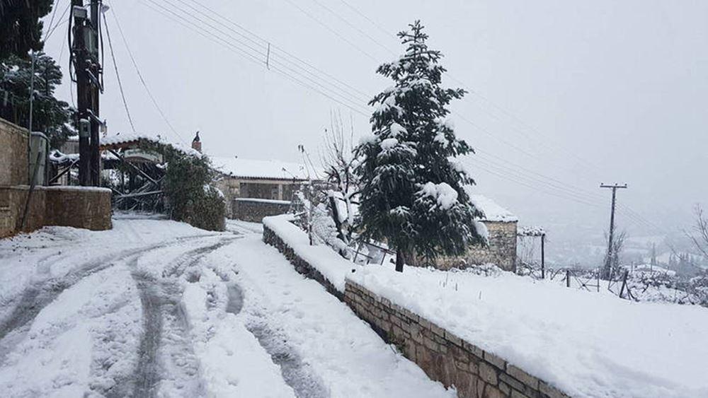 Πολικές θερμοκρασίες έως 13 βαθμούς υπό το μηδέν στη βόρεια Ελλάδα