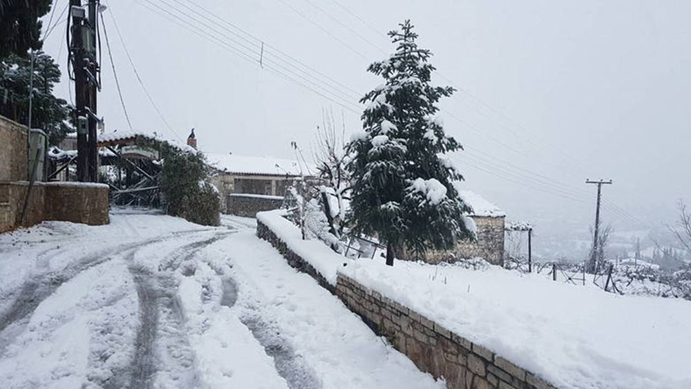 Meteo: Σε πολύ χαμηλά επίπεδα η έκταση της χιονοκάλυψης στην Ελλάδα στις αρχές του 2021