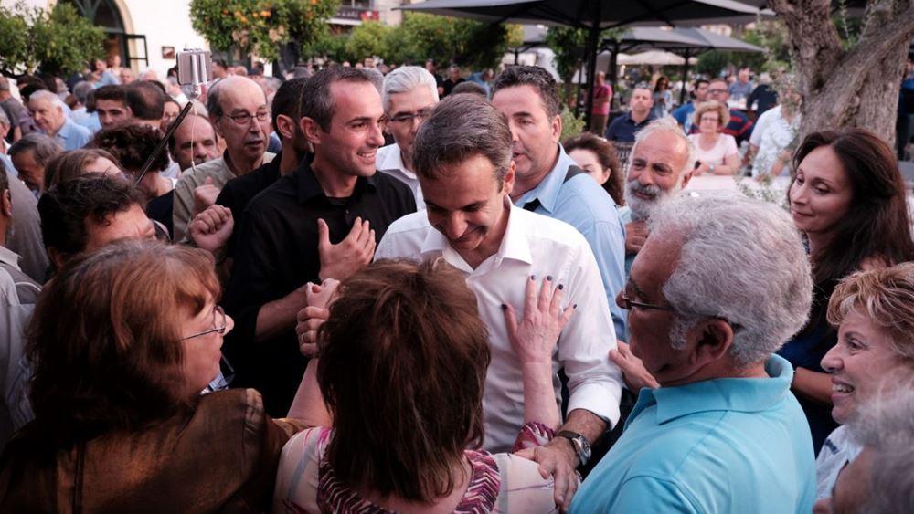 Ο Κ. Μητσοτάκης ζητάει ισχυρή εντολή και ορίζει τις κινήσεις για την ανάπτυξη και τη στήριξη των εργαζομένων