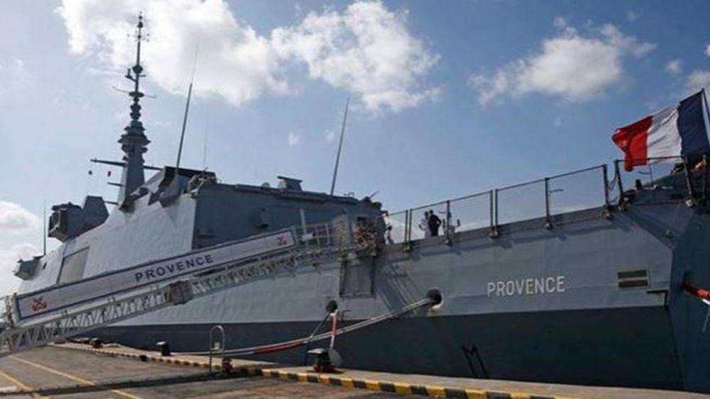 Σε εξέλιξη γαλλοκυπριακή ναυτική άσκηση στην κυπριακή ΑΟΖ