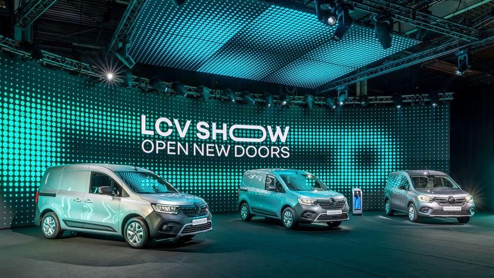 H νέα γκάμα των LCV μοντέλων της Renault