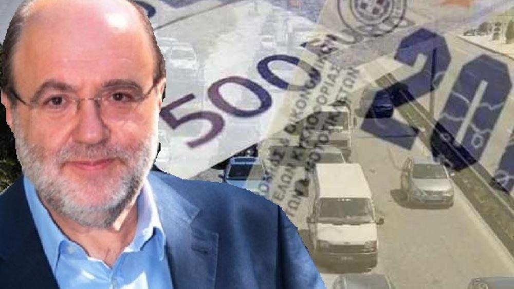 Τ. Αλεξιάδης: Εξετάζεται επιπλέον φόρος στη βενζίνη για τα τέλη κυκλοφορίας