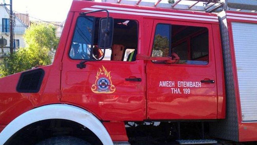Πάτρα: Πυρκαγιά στην περιοχή Μαζαράκι