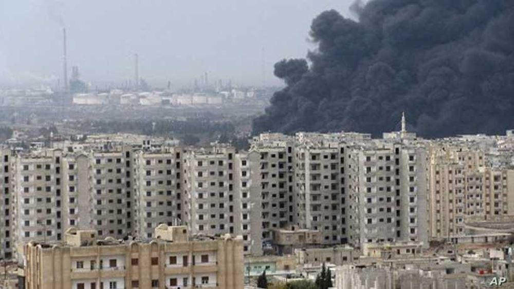 Συρία: Πυρκαγιά έχει ξεσπάσει στο κεντρικό διυλιστήριο της Χομς