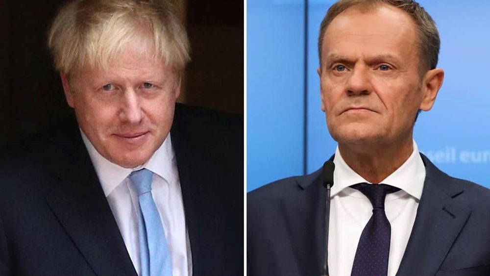 "Brexit: Συνάντηση Τουσκ-Τζόνσον τη Δευτέρα στη Ν. Υόρκη - ""Πιθανή η συμφωνία"", λέει ο Ρούτε"