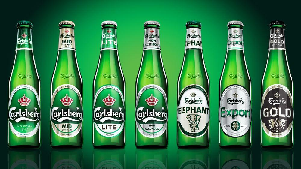 Carlsberg: Αντίστοιχα των προσδοκιών τα κέρδη β΄ εξαμήνου