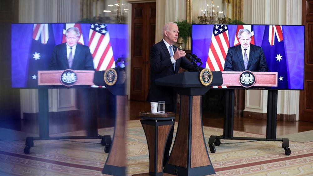Οργή Γαλλίας για το Σύμφωνο Ασφαλείας ΗΠΑ-Αυστραλίας-Βρετανίας