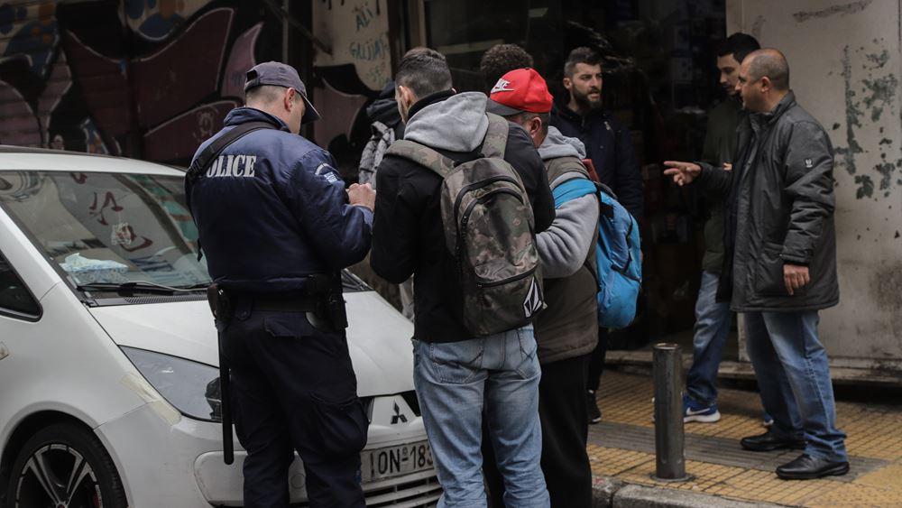 Αστυνομική επιχείρηση στα πόστα διακίνησης ναρκωτικών στη Μενάνδρου