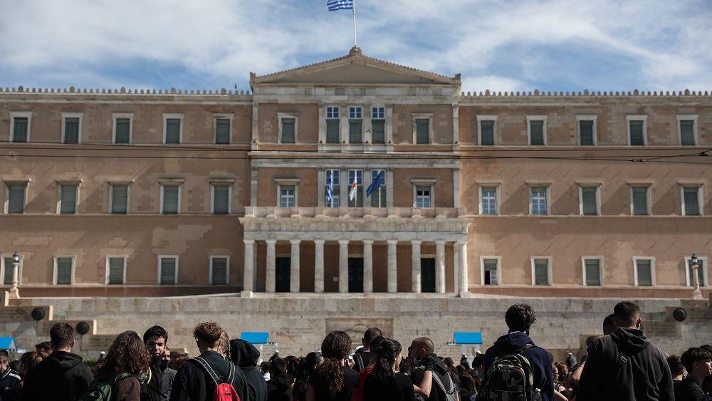 Συγκέντρωση μαθητικών και φοιτητικών συλλόγων Βουλη