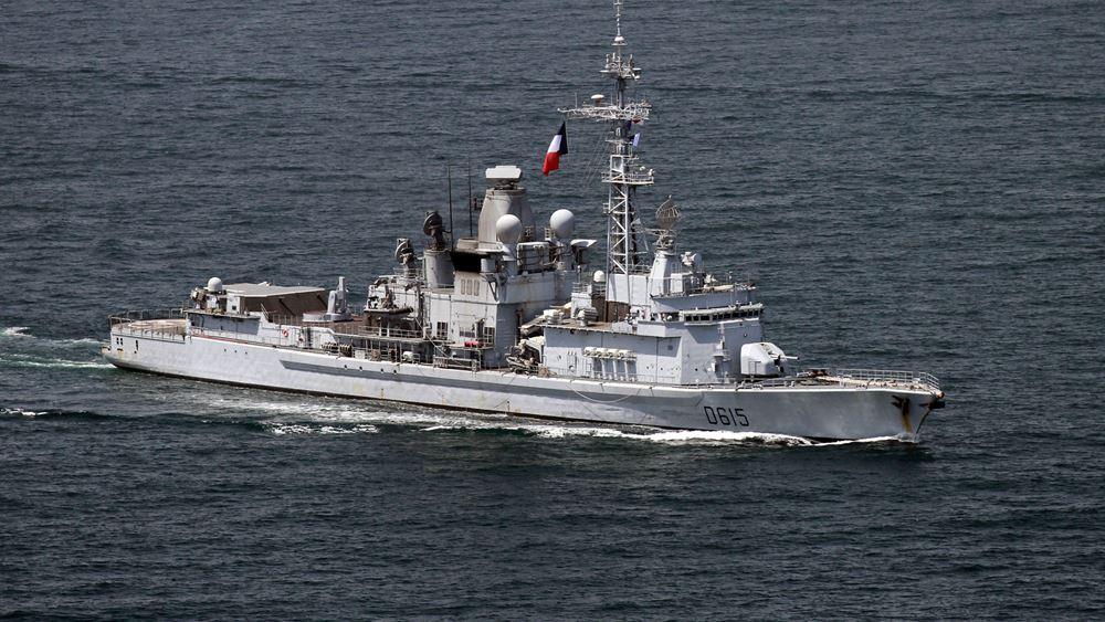 """Η Άγκυρα απορρίπτει τις """"αβάσιμες"""" κατηγορίες του Παρισιού για επιθετικό ελιγμό τουρκικής φρεγάτας στη Μεσόγειο"""