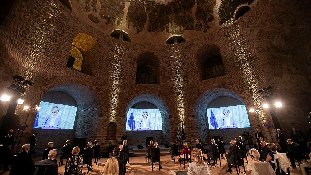 «Βραβείο Αυτοκράτειρα Θεοφανώ»: Τίμησε το πρόγραμμα ERASMUS στο πρόσωπο της προέδρου της Κομισιόν