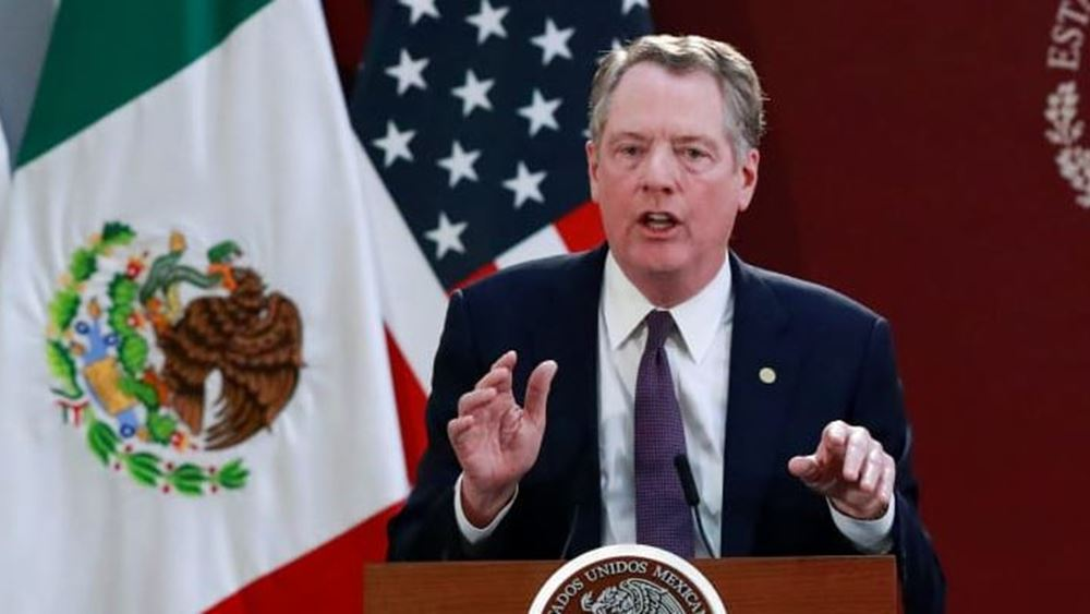 """Λάιτζαϊζερ: Η συμφωνία """"πρώτης φάσης"""" με την Κίνα σχεδόν διπλασιάζει τις εξαγωγές των ΗΠΑ"""