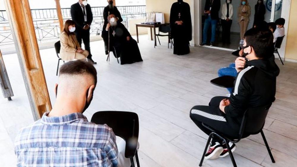 K. Σακελλαροπούλου: Εχουμε χρέος να στηρίζουμε τους κατατρεγμένους και ανέστιους