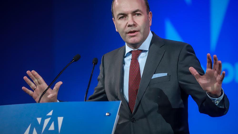 Βέμπερ: Οι πολίτες να έχουν φωνή στη λήψη των αποφάσεων στην Ευρώπη