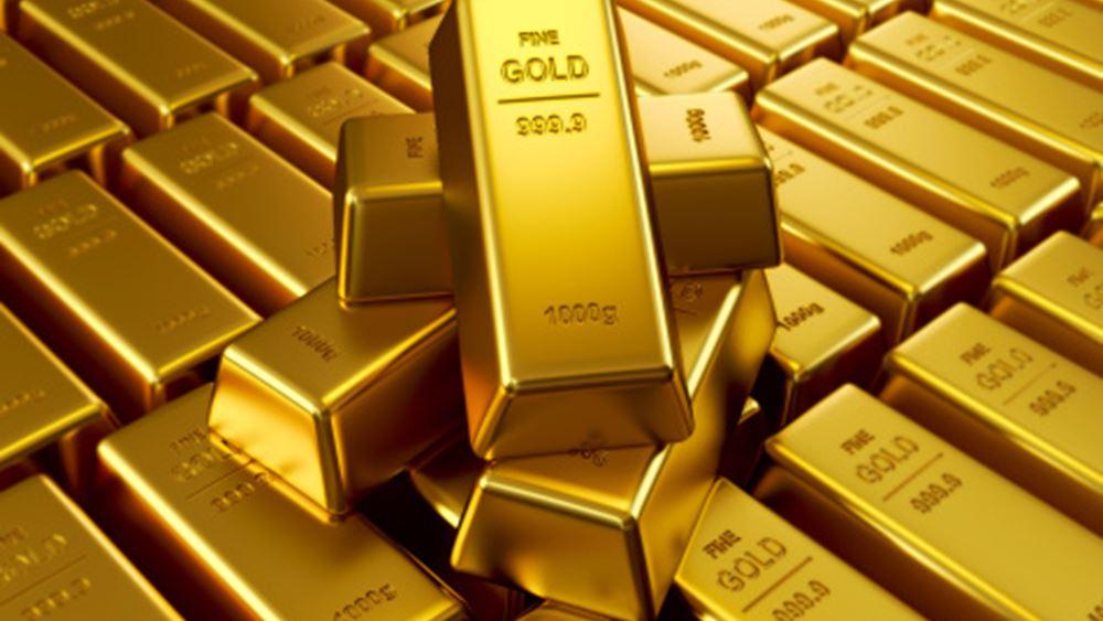 Εβδομαδιαίες απώλειες 1% για τον χρυσό