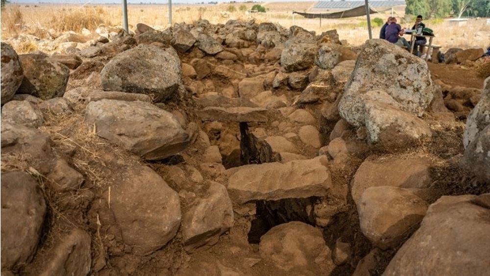 Αρχαιολόγοι ανακάλυψαν στο Γκολάν ένα φρούριο της εποχής του βασιλιά Δαβίδ