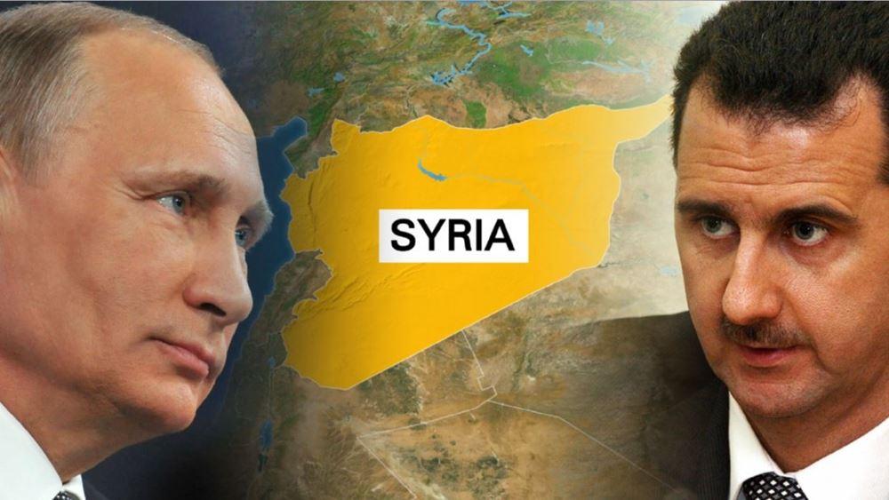 Συνάντηση των προέδρων Πούτιν και Άσαντ στη Μόσχα