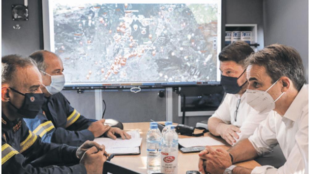 Στο Συντονιστικό στο Χαλάνδρι μεταβαίνει και πάλι ο πρωθυπουργός