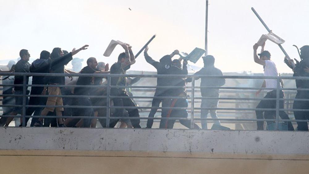 Κανονικά ο τελικός Κυπέλλου μετά την απίστευτη βία στο Πανθεσσαλικό