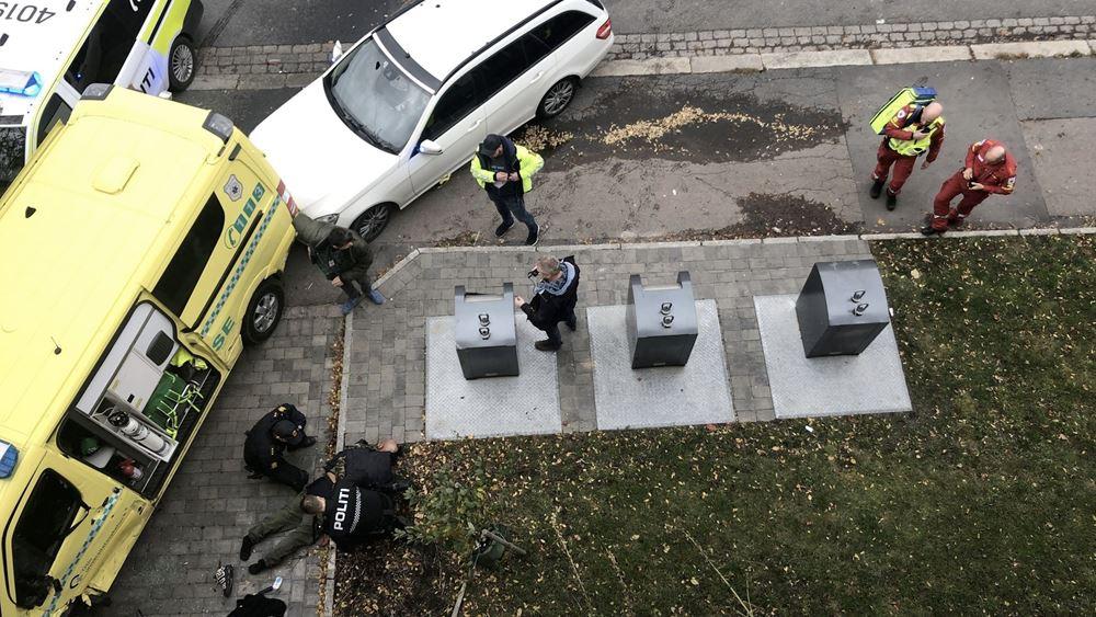 Ένοπλος έπεσε με κλεμμένο ασθενοφόρο πάνω σε πλήθος στο Όσλο