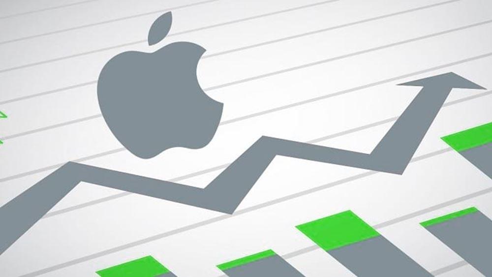 H κεφαλαιοποίηση της Apple αναμένεται να φτάσει το 1 τρισ. δολ. μετά τα ισχυρά αποτελέσματα
