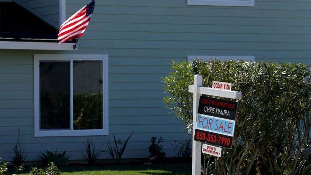 """ΗΠΑ: """"Άλμα"""" 8% στις εκκρεμείς πωλήσεις κατοικιών τον Αύγουστο"""