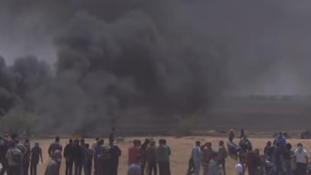 Γάζα: Ρουκέτα εναντίον του Ισραήλ μετά τον θάνατο  Παλαιστινίου στις κινητοποιήσεις της Παρασκευής